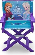 Delta Children TC85977FZ Regiestuhl Frozen, Holz, violett, Single, 35.55 x 28.90 x 53.35 cm