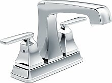 Delta Wasserhahn 2564-mpu-dst Ashlyn Zwei Centerset Mischbatterie Badezimmer Wasserhahn, Chrom