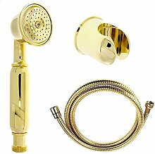 DELUXE: Goldenes Handbrause-Set Handbrause +