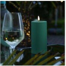 Deluxe Homeart LED-Kerze LED Stumpenkerze MIA