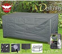 Deluxe Schutzhülle für Lounge Tische 90x90cm Polyester 420D - Garten Tisch Gartenmöbel Schutz Hülle Abdeckung Tragetasche Plane