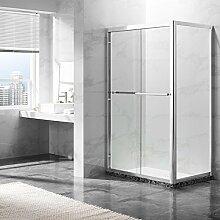 Deluxeshower Duschkabine 120 x 80 x 195 cm, für
