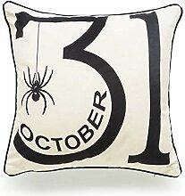 delvet New Halloween Englisch Letters Pattern