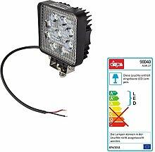 DEMA 12 Volt LED - Arbeitsscheinwerfer 9x3W