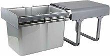 DEMA Einbau Abfallbehälter/Mülleimer 1x34 Ltr.