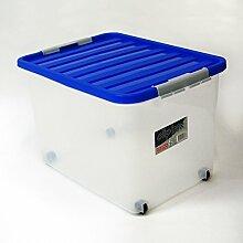 DEMA Rollbox mit blauem Deckel 45 Liter