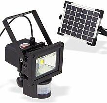 DEMA Solar LED-Strahler mit Bewegungsmelder 10 Wa