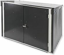 Dema - Tepro Metall Mülltonnenbox Gartenbox
