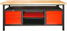 DEMA Werkbank XL 1700 Türe/Schubladen/Ablage anthrazi