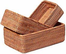 Demarkt Brotkorb Brotkörbchen Korb geflochten aus