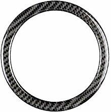 Demarkt Carbon Lenkrad Emblem Aufkleber für Mini
