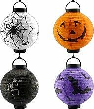 Demarkt Halloween Papierlaterne Lampion Laterne