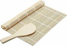 Golden Banyan Japanische Sushi Matte 21x24 cm Sushi Bamboo Mat