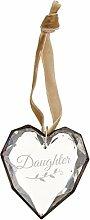 Demdaco Tochter Glas Ornament Herz