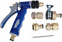 demiawaking 1Set Universal KFZ Auto verstellbar Gun Head High Druck Waschen Wasser Home Garten Bewässerung Waschmaschine Gun