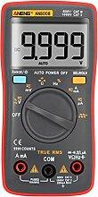 Demiawaking AN8008 True-RMS Digital Multimeter 9999 zählt quadratisches Wellenspannungs-Amperemeter