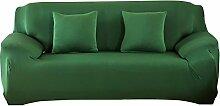 Demiawaking Dunkel Grün Sofabezüge Einfarbig