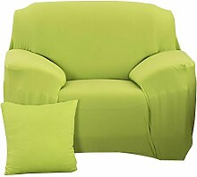 Demiawaking Grün Sofabezüge Einfarbig Elastisch