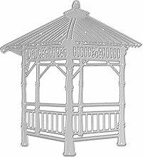 Demiawaking Pavillon Metall Stanzformen Schablonen