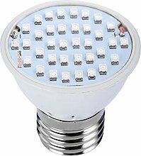Demiawaking Vollspektrum Licht zu Wachsen E27 AC85-265V Pflanze Gemüse Grow Lampe (36 Lampe)