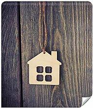 Demur Fototapete Vlies Haus im Holz -Tapeten