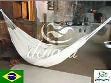 Dénana 102 Brasilianische Hängematte 330x150, beige