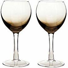Denby Halo/ Praline Weinglas, 0,33l, Weiß,