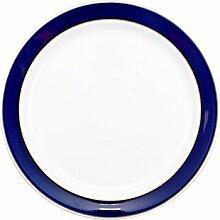 Denby Malmo Dessert- und Salatteller, Blau