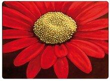 Denby Red Velvet Platzset mit Unterseite aus Kork, 29x22cm, bunt, 6Stück