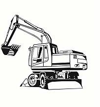 Dencey Bzqt Abnehmbare Big Digger Farm Mechanische