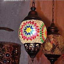 DENG Böhmische Kronleuchter Marokko Veranda Lichter Korridor Lichter Kristall-Kronleuchter Lampe, rechts , 60