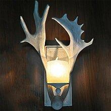 DENG LED Antlers Wandleuchte Wandlampe Retro