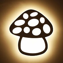 DENG LED-Pilz-Wandlampe Kinderzimmer