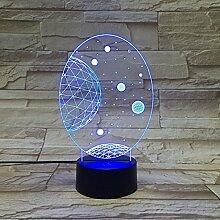 DENG Sternform Bunte Note Abgestuft Acryl Lampe