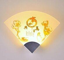 DENG Wandlampe, Aluminium Nachttischlampe,