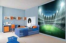 Dengjiam Cool football stadion nacht beleuchtet
