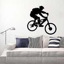 Dengjiam Große Wandtattoo Aufkleber Fahrrad Pvc