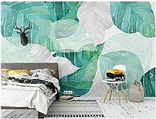 Dengjiam Nordeuropa Tropical Design Leaf Wallpaper