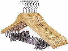 DENGS Holz Kleiderbügel(20 Stück), Jackenbügel