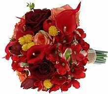 DENGSHENG SHOPS Braut Hochzeit Blumensträuße,
