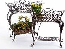 DENK Blumenständer 18216 Blumenbank Avis 2 Set