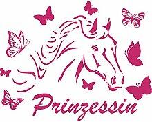 denoda® Pferd mit Schmetterlingen - Prinzessin -