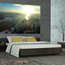 denoda® Toronto - Wandbild 34 x 25 cm (Wandsticker Wanddekoration Wohndeko Wohnzimmer Kinderzimmer Schlafzimmer Wand Aufkleber)