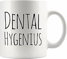 Dental Hygenius Lustige Dentalhygienikerin