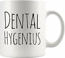 Dental Hygenius Lustige Dentalhygienikerin