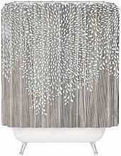 DENY Designs Iveta Abolina Sunset 2Extra Lange Vorhang für die Dusche, Polyester, Coastal Raindrops, Twin XL