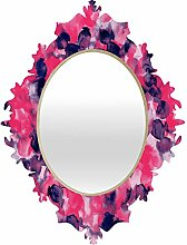 DENY Designs Jacqueline Maldonado filigranen Pink Indigo Barock Spiegel, rose, S US