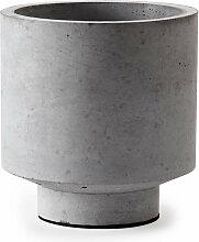 Deparso - Pflanztopf Matroschka mittel, grau