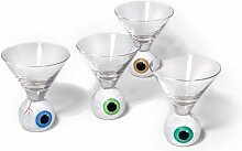 Department 56 Eyeball Martiniglas 4er Se