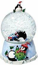 Department 56 Spieluhr Pinguin Wasserball